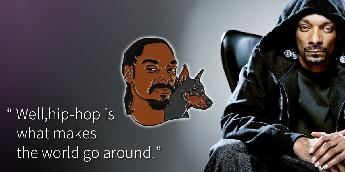 STAARKS Snoop Dog pins