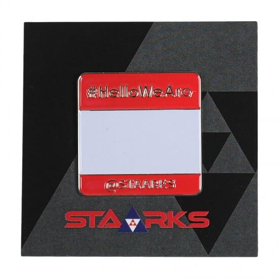 STAARKS pins hello we are
