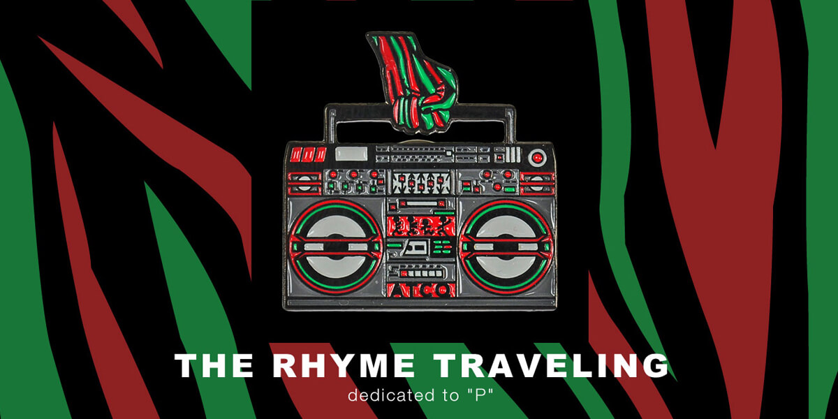 """THE TRIBUTE"" The Rhyme Traveling 「DEDICATED TO ""P""」[PINS]"